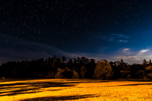 2470mm28g 365 365days blue newhampshire nikond700 project365 sargentcamp yellow catchycolor cloud contrast grass light night orange shadow sky star tree mooswu