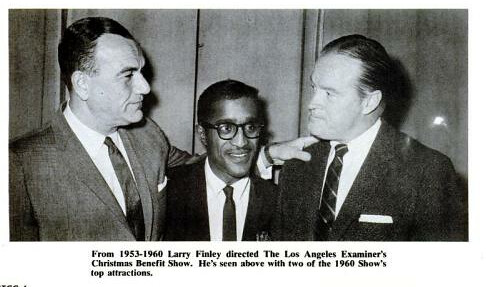 Larry Finley with Sammy and Bob Hope Billboard Jun 25, 1966 | by richardschave