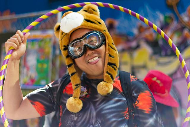 How Weird Street Faire 2012: rainbow connection