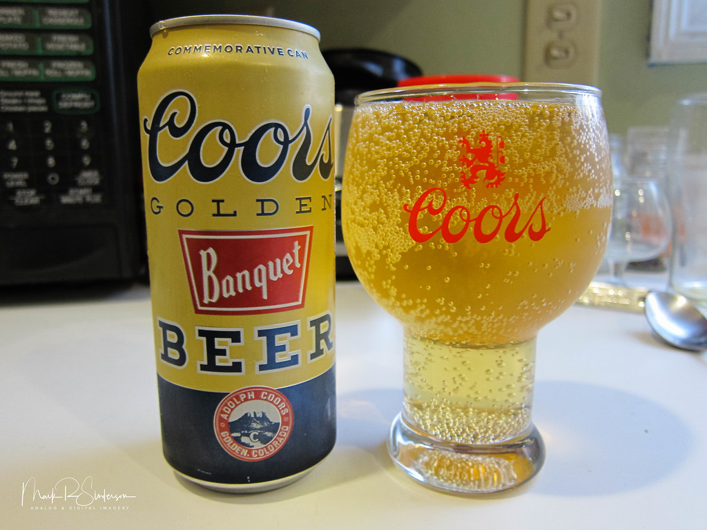 Coors Banquet Beer Commemorative 16oz Can   I was feeling a