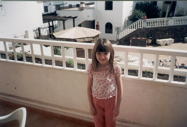 Lanzarote With Chloe 2003