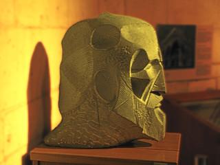 Bust d'Antoni Gaudí. Museu del Temple Expiatori de la Sagrada Família