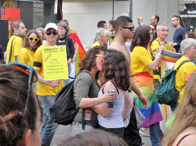Marche des fiertés LGBT, Paris 2 juillet 2016