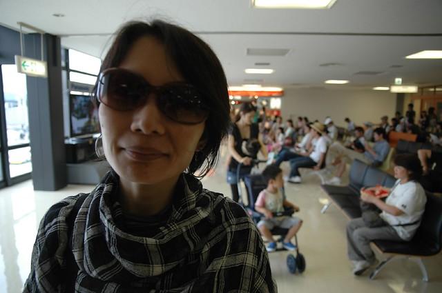 伊丹空港にて