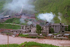 Fen River factories near Xiangfen