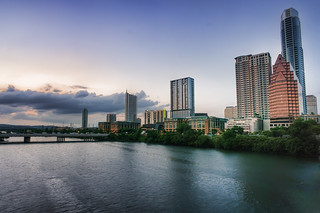 South First Street Bridge and Lady Bird Lake | by Katie Haugland Bowen