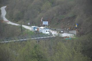Road between Bosnia and Montenegro