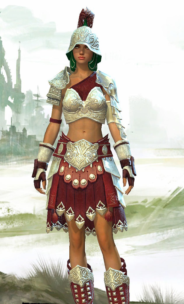 Seraph-Issue Armor Set - Guild Wars 2 | My character from th
