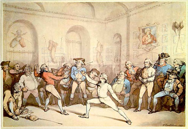 """""""I Shall Conquer This"""" by Thomas Rowlandson"""