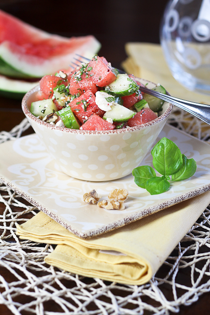 Watermelon Cucumber Salad-10