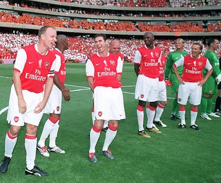 Dennis Bergkamp and friends