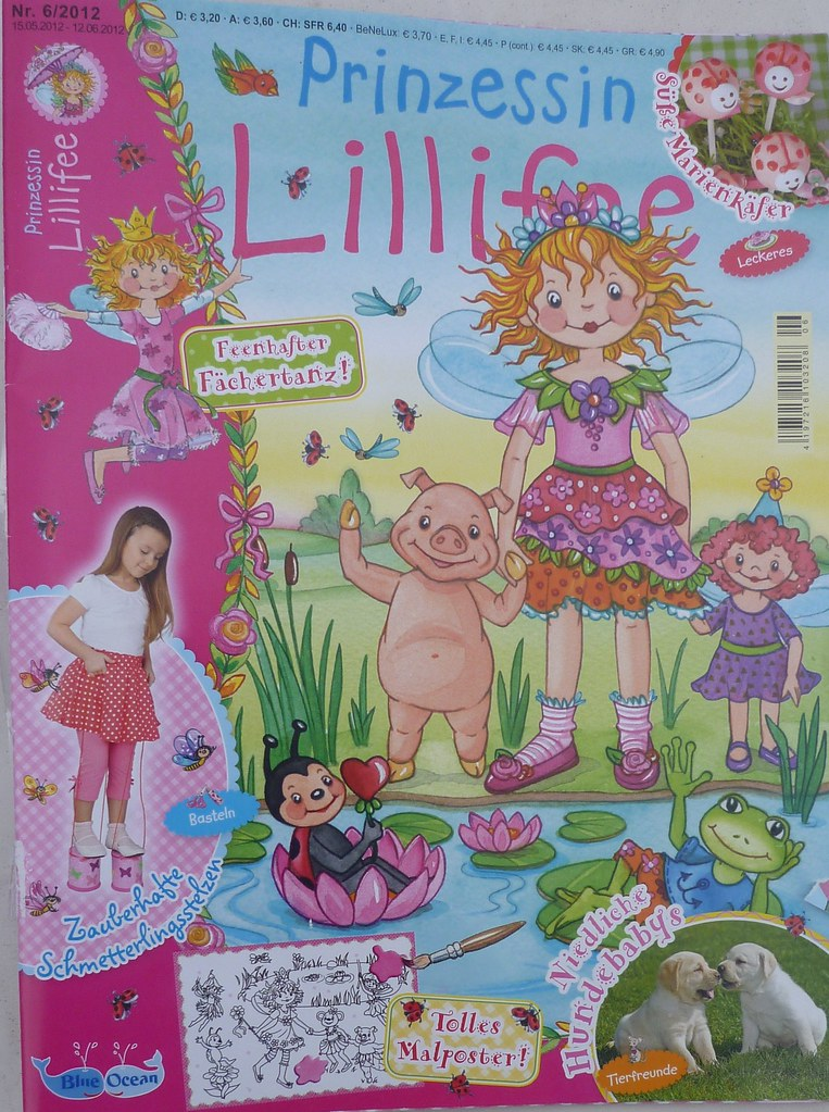 Prinzessin Lillifee Magazin 62012 Coppenrath Verlag Mit