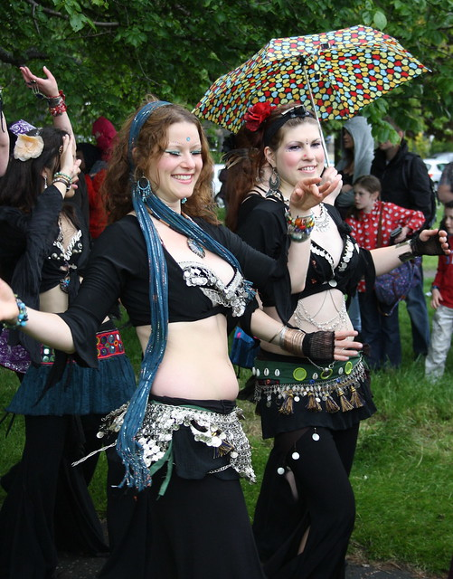 Leith Festival 2012: Belly Dancers