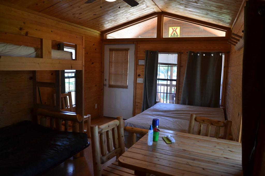 Starved Rock Koa Camping Cabin Starved Rock Area Camp Grou