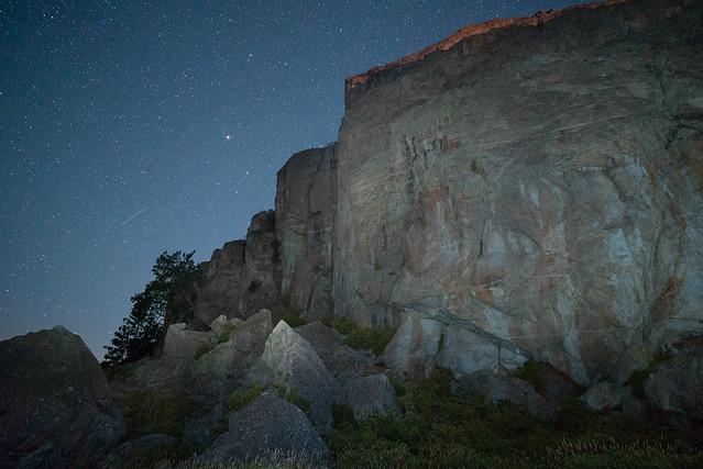 Banks Lake Moonrise