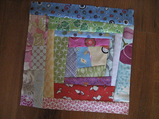 Scrapbuster's Bee Block April