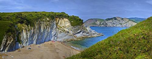 Playa de Muriola, Barrika (E)