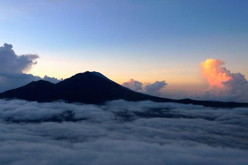 Sunrise over Mt. Agung | by cnener