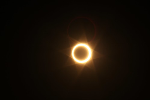 Annular Eclipse at Chaco Culture