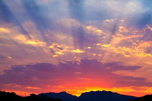 light sunset sky colour rays diamondclassphotographer flickrdiamond nspp