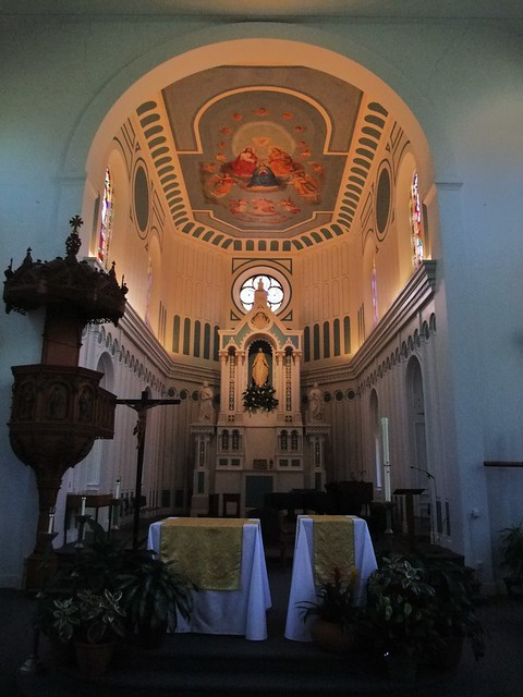 Chapel of the Immaculate Conception, University of Dayton, Dayton, OH