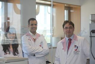 Sara Puertas, Gonçalo Doria and Christian Sánchez, members of our Technical Department   by NANOIMMUNOTECH S.L.