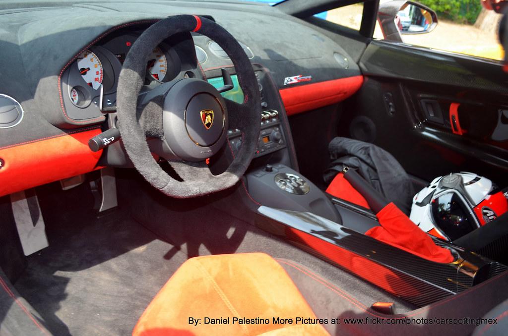 Interior Lamborghini Gallardo Lp 570 4 Super Trofeo Strada Flickr