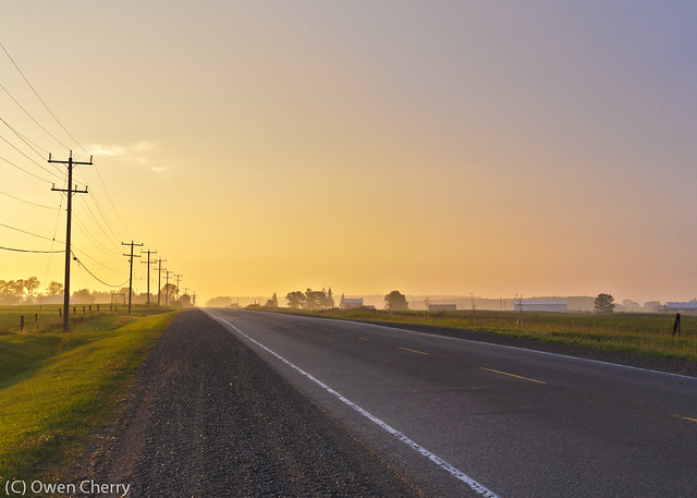 Nafziger Road Sunset