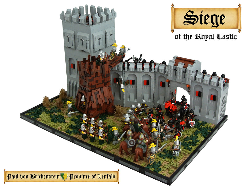 Siege Of The Royal Castle My Entry To The Global Challenge Flickr