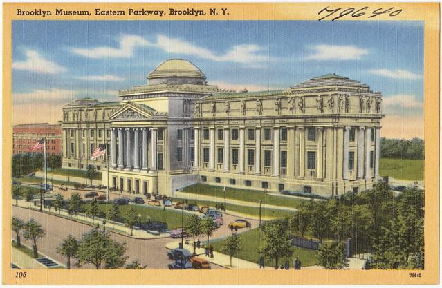 Brooklyn Museum, Eastern Parkway, Brooklyn N. Y.
