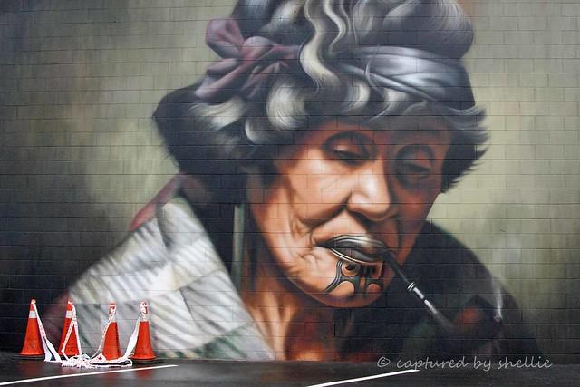 Goldie Street Art