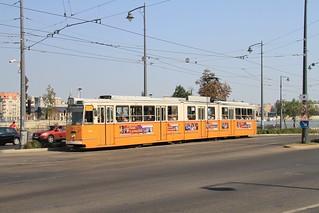 BKV Ganz CSMG2 1423 (1965-78) Szent Gellért tér | by Ian YVR