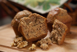 Banana Walnut muffins | by alreza