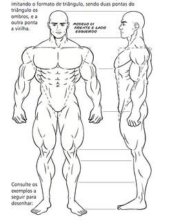 Curso Desenho Corpo Masculino J Lima Flickr