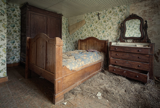 check for monsters under the bed before you go too sleep