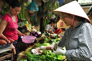 buying vegetables, Cho Hom Market | by UN Women Asia & the Pacific