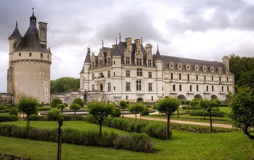 Schloss Chenonceaux - Garten der Katharina von Medici | by Wolfgang Staudt