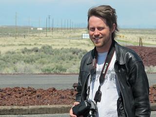 EBR-1: Matt in the parking lot   by mormolyke