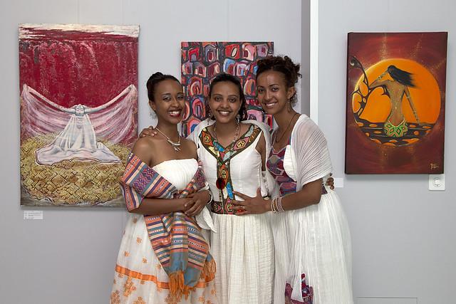 Makeda Bizuneh, Meron Ermias, Kidist Berhane GebreGiorgis, Ethiopian Artists