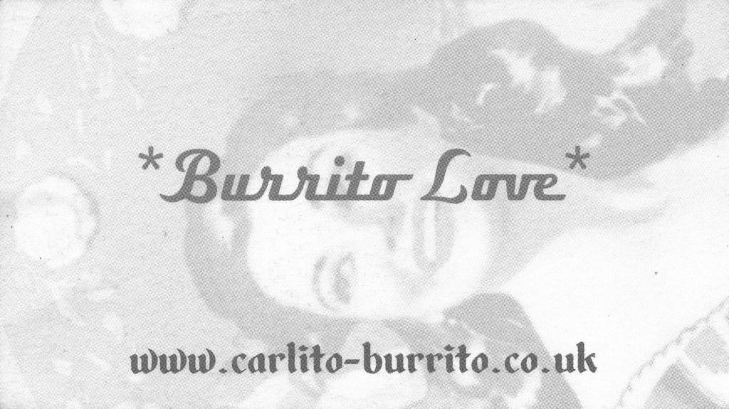 Burrito Love* at Carlito - Burrito | Part of a Set / Slides