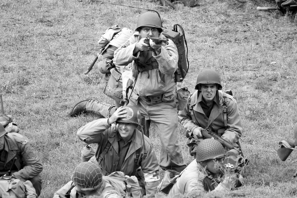 D-Day Reenactment, Conneaut, OH  2015 | Kim Newman | Flickr