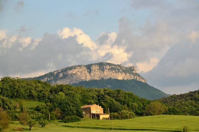 Paysage de la Drôme