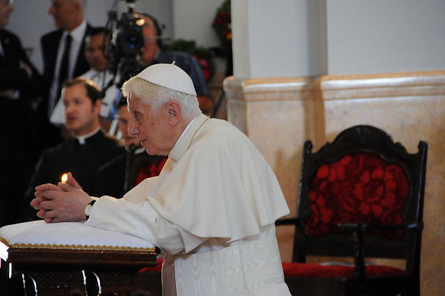 Últimos momentos del viaje del Papa