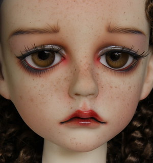 Dollstown Seola -- Faceup by Robbin Atwell | by Robbin With 2 Bs