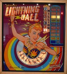 Lightning Ball Backglass