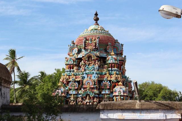 Vimanam of Thayar shrine