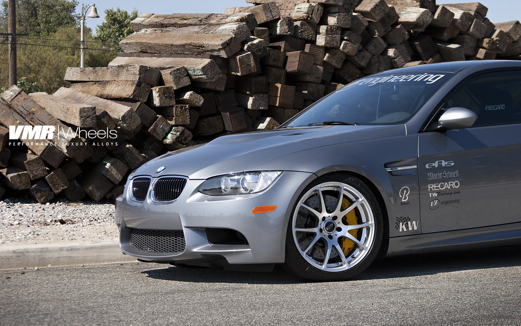 Vmr Wheels Space Gray Bmw E92 M3 Coupe Steel Gray Bmw E9 Flickr