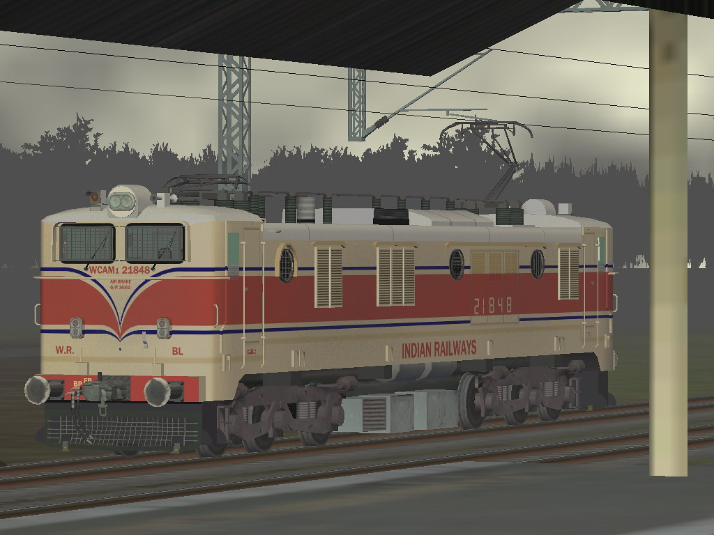 WCAM1 21848 in old livery for MSTS  | WCAM1 21848 in old liv