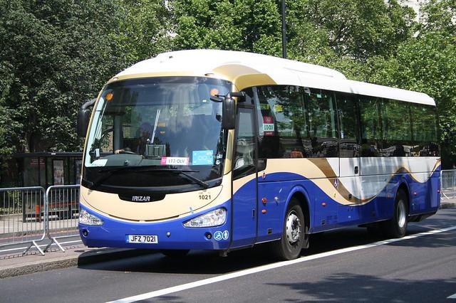 1021 JFZ7021 Ulsterbus
