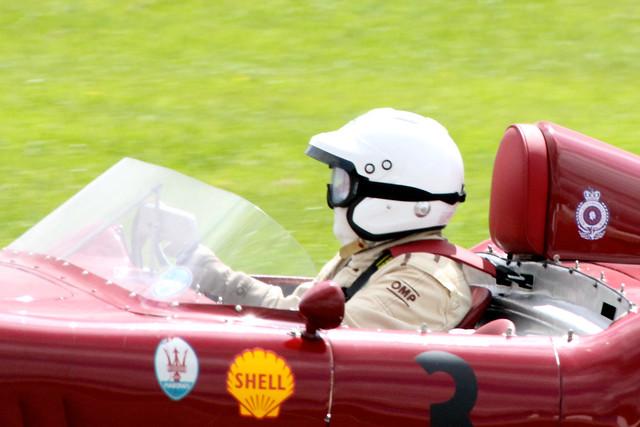 Racing at Donington Historic Festival, Donington Park, May 2012